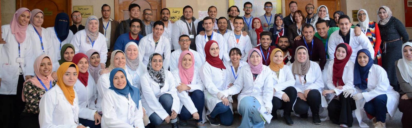 Palestine Polytechnic University (PPU) - خريجتان من كلية العلوم التطبيقية تنهيان تدريب عملي في مجال النانوبيوتكنولوجي (Nano-biotechnology) من خلال أكاديمية الشباب العربية الألمانية للعلوم والعلوم الإنسانية