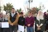 Palestine Polytechnic University (PPU) - بدعوة من نقابة العاملين في جامعة بوليتكنك فلسطين ومجلس اتحاد الطلبة  ينظمان وقفة احتجاجية في جامعة بوليتكنك فلسطين  تعبيراّ عن الاحتجاج والرفض لقرار الرئيس الأمريكي ترامب
