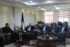 Palestine Polytechnic University (PPU) - خلال زيارته لجامعة بوليتكنك فلسطين  وزير التربية والتعليم العالي  يسلّم جامعة بوليتكنك فلسطين اعتماد برنامج الماجستير في العمارة المُستدامة