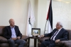 Palestine Polytechnic University (PPU) - Palestine Polytechnic University receives a delegation from both the International AECOM and the Palestinian Power Project