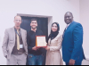 Palestine Polytechnic University (PPU) - Palestine Polytechnic University wins the Best Poster in the Palestinian Forum for Medical Research (PFMR) at Birzeit University