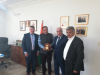Palestine Polytechnic University (PPU) - وفد من جامعة بوليتكنك فلسطين يزور مقر الممثلية الهندية في مدينة رام الله