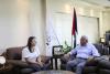 Palestine Polytechnic University (PPU) - جامعة بوليتكنك فلسطين تستقبل مديرة مكتب مؤسسة الداد الألمانية
