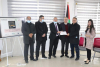 """Palestine Polytechnic University (PPU) - The Mayor of Hebron honors the """"Polytechnic Team"""" who won the """"HEMAHACK2020"""" Contest for Entrepreneurial Ideas"""