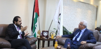 Palestine Polytechnic University (PPU) - Palestine Polytechnic University Receives the Deputy Representative of the Swiss Republic in Palestine and Discusses the Prospects for Joint Cooperation