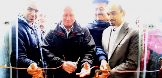 Palestine Polytechnic University (PPU) -   Palestine Polytechnic University Celebrates the Inauguration of A project for Establishing A Consumer Establishment in Partnership with Al-Mahawer Society Funded by the ACF