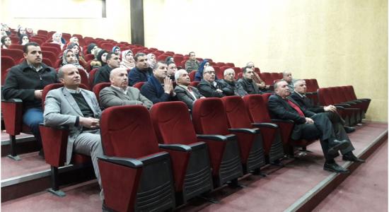 Palestine Polytechnic University (PPU) - جامعة بوليتكنك فلسطين تعقد ندوة علمية حول المواد المبلمرة (البلاستيكية) الملامسة للغذاء وأثرها على الصحة