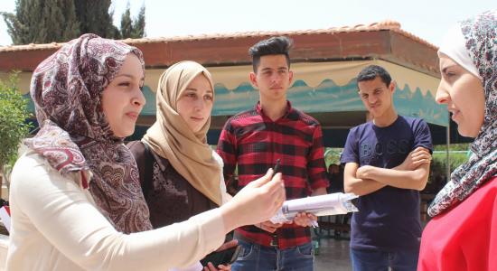 Palestine Polytechnic University (PPU) - حملة نحن نبض الوطن في جامعة بوليتكنك فلسطين تنفذ عدة فعاليات في ذكرى يوم الأسير الفلسطيني