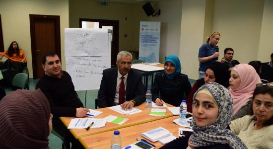 """Palestine Polytechnic University (PPU) - جامعة بوليتكنك فلسطين تشارك في ندوة حول """"التحديات والفرص التي تواجه التعليم العالي في فلسطين"""""""
