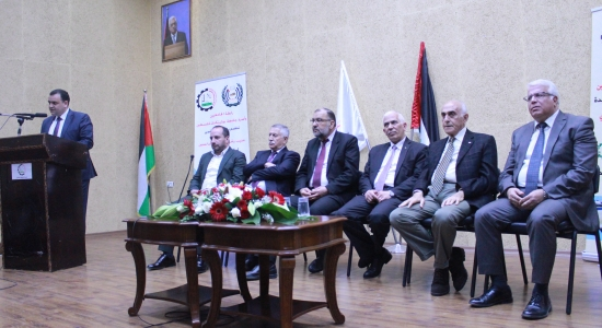 Palestine Polytechnic University (PPU) - Palestine Polytechnic University Celebrates the Inauguration of Munib  Rashid al-Masri Building for Innovation and Excellence and Laying the Foundation Stone for the Students services Building