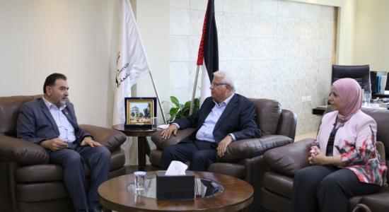 Palestine Polytechnic University (PPU) - جامعة بوليتكنك فلسطين تستقبل وفداً من بلدية قلقيلية