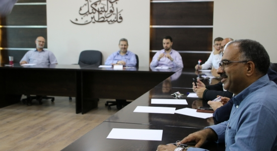 Palestine Polytechnic University (PPU) - جامعة بوليتكنك فلسطين تنظم ورشة عمل خاصة بتطوير أساليب التقييم
