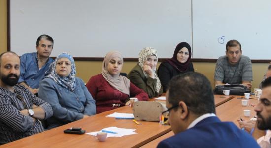 Palestine Polytechnic University (PPU) - جامعة بوليتكنك فلسطين تعقد ورشة عمل حول التعليم المقلوب