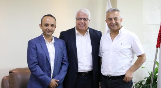 Palestine Polytechnic University (PPU) - جامعة بوليتكنك فلسطين تستقبل وفداً من شركة آكسيس لأجهزة المساحة والجيوماتكس وتبحث آفاق التعاون المشترك