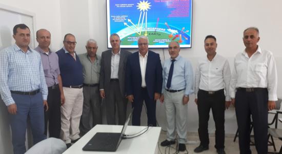 Palestine Polytechnic University (PPU) - جامعة بوليتكنك فلسطين تعقد محاضرة علمية حول تغير المناخ وتأثيره على البيئة