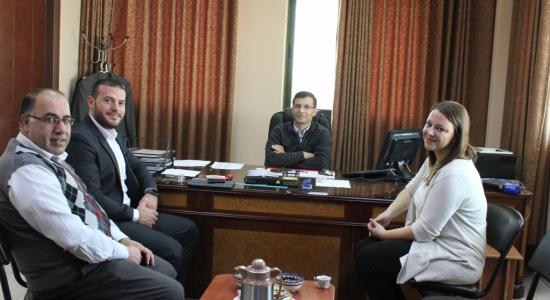 Palestine Polytechnic University (PPU) - جامعة بوليتكنك فلسطين تستضيف رئيس قسم البرمجيات في شركة أكسوس الألمانية