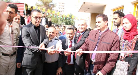 Palestine Polytechnic University (PPU) - جامعة بوليتكنك فلسطين تفتتح سوق باب خان الزيت الريادي ضمن فعاليات الأسبوع العالمي للريادة