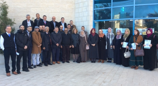 """Palestine Polytechnic University (PPU) - Palestine Polytechnic University holds a training course to train trainers for """"Skills for Life"""" Course"""