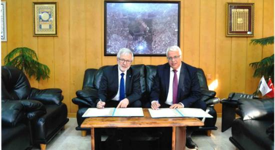 Palestine Polytechnic University (PPU) - Palestine Polytechnic University and Uludag University sign a Memorandum of Understanding on the Joint Medicine Program
