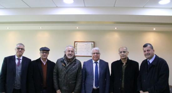 Palestine Polytechnic University (PPU) - Palestine Polytechnic University receives the International Labor Organization (ILO) in Palestine