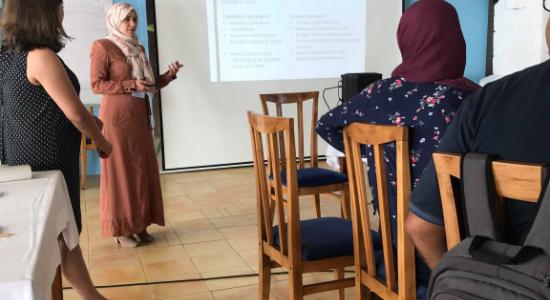 Palestine Polytechnic University (PPU) - جامعة بوليتكنك فلسطين تشارك في ورشة عمل  حول اساليب التعليم الحديثة  في التعليم العالي