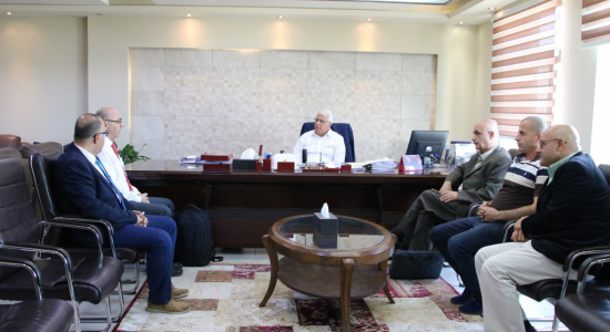 Palestine Polytechnic University (PPU) - Palestine Polytechnic University hosts the Director of the Center of Global Studies at the Czech Academy of Sciences