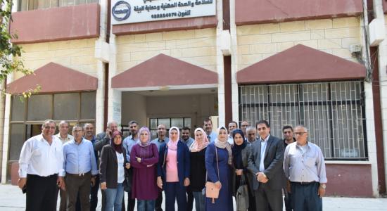 Palestine Polytechnic University (PPU) - جامعة بوليتكنك فلسطين تستقبل وفداً من مجلس التشغيل/ محافظة طولكرم