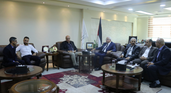 Palestine Polytechnic University (PPU) - Palestine Polytechnic University receives the Coordinator of the EU Programs in Palestine