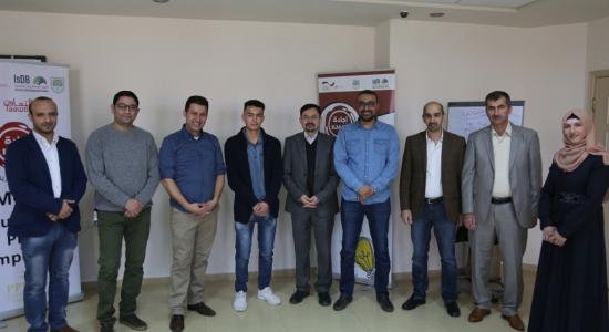 Palestine Polytechnic University (PPU) - جامعة بوليتكنك فلسطين ومؤسسة التعاون يحتضنان  12 مشروع ناشئ