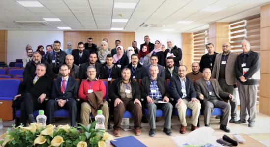 Palestine Polytechnic University (PPU) - المركز الفلسطيني الكوري للتكنولوجيا الحيوية في جامعة بوليتكنك فلسطين ينظم ورشة عمل حول اللقاحات الحيوانية