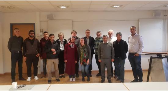 Palestine Polytechnic University (PPU) - مُشاركة الدكتور شرف الطردة في الندوة العلمية لجسر العلوم الفلسطيني الألماني   PGSB في معهد يولش/ألمانيا للأبحاث