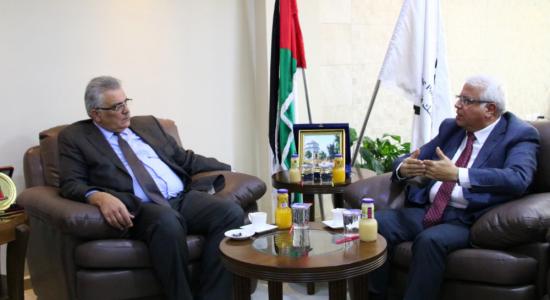 Palestine Polytechnic University (PPU) - جامعة بوليتكنك فلسطين وسلطة المياه الفلسطينية توقعان مذكرة تعاون في المجال العلمي والبحثي