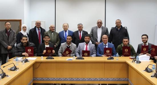 Palestine Polytechnic University (PPU) - مُشاركةجامعة بوليتكنك فلسطين في حفل تسليم براءات الاختراع لعام 2019 بوزارة الإقتصاد الوطني