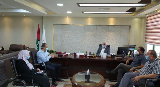 Palestine Polytechnic University (PPU) - إطلاق برنامج التمريض في جامعة بوليتكنك فلسطين بحضور إدارة المستشفى الأهلي