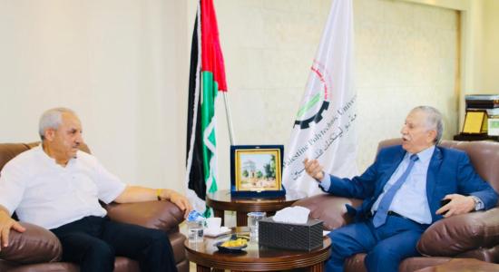 Palestine Polytechnic University (PPU) - مجموعة شركات الجراشي الإستثمارية تساهم في تمويل مبنى الأنشطة الخدمات الطلابية في جامعة بوليتكنك فلسطين