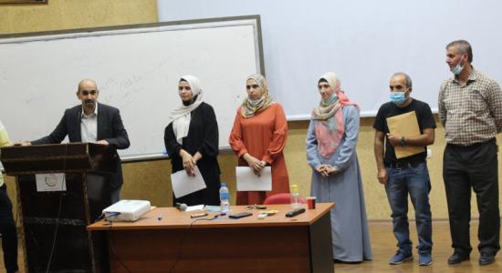 Palestine Polytechnic University (PPU) - مركز التميّز والتعليم المُستمر في جامعة بوليتكنك فلسطين  يستقبل الطلبة المُستجدين