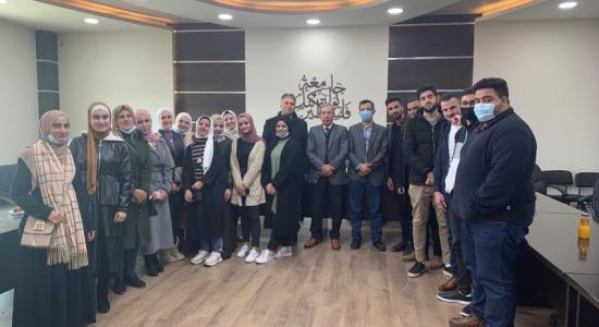 Palestine Polytechnic University (PPU) - جامعة بوليتكنك فلسطين تكرّم الطلبة المُشاركين في مشروع التبادل الإفتراضي