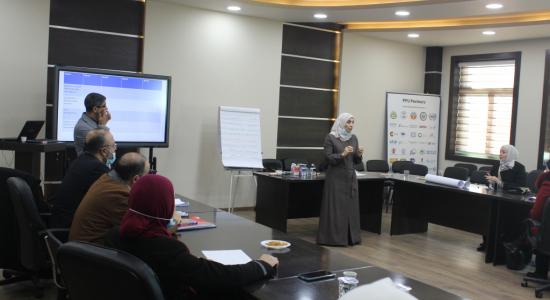 Palestine Polytechnic University (PPU) - مركز التميز في التعليم والتعلم يعقد تدريباً لإعداد مدرسين لتدريس مساق مهارات الحياة