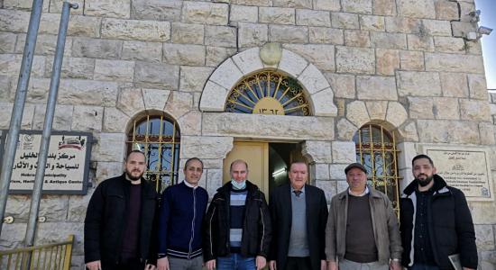 Palestine Polytechnic University (PPU) - جامعة بوليتكنك فلسطين تنظم زيارات تحضيرية لمشروع MED-QUAD
