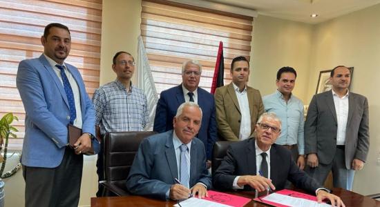 """Palestine Polytechnic University (PPU) - """"البوليتكنك"""" وشركة أبناء حامد الجدع للكهرباء وحلول الطاقة يوقّعان   اتفاقية تعاون مُشترك في مجال البحث العلمي"""