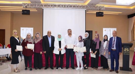 Palestine Polytechnic University (PPU) - البوليتكنك تشارك في برنامج القيادات الشابة