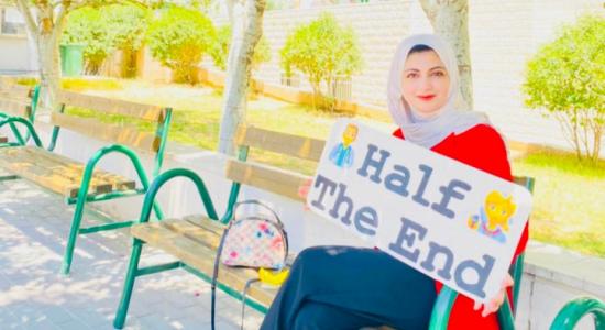 Palestine Polytechnic University (PPU) - الطالبة ابو هليل من كلية الطب في البوليتكنك تحقق انجازاً بمُسابقة التحدي الطبي العالمي