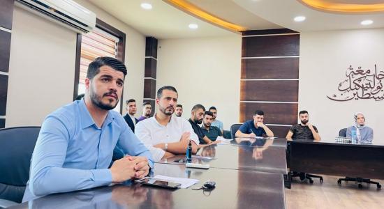 Palestine Polytechnic University (PPU) - جامعة بوليتكنك فلسطين ومكتب الامديست تعقدان لقاءاً تعريفياً حول برنامج المنح الإيرلندي الفلسطيني(IPSP)