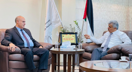 Palestine Polytechnic University (PPU) - جامعة بوليتكنك فلسطين ولجنة إعمار الخليل يبحثان آفاق التعاون المُشترك